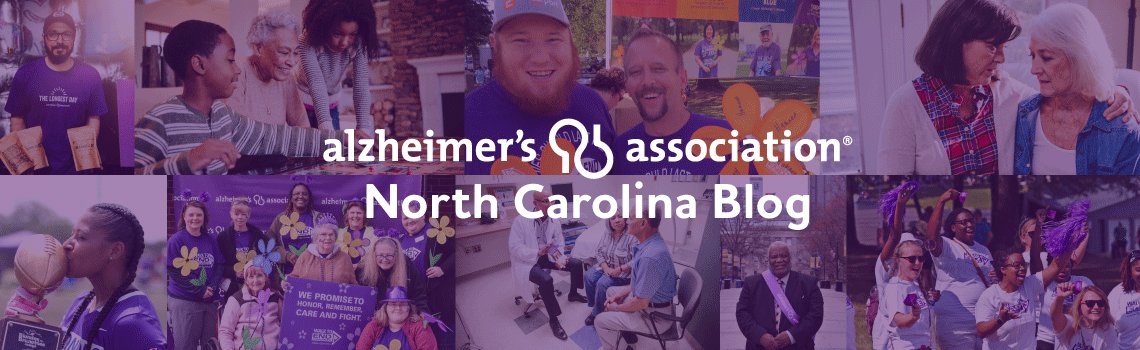 Alzheimer's Association North Carolina Blog
